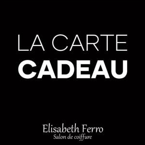 Carte Cadeau Elisabeth Ferro