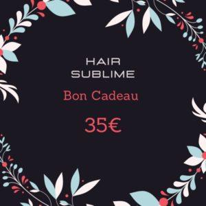 Carte cadeau hair sublime